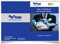 Bộ nhận diện công ty phần mềm Việt - Đồ án Phạm Văn Lăng K12G81