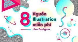 8 NGUỒN ILLUSTRATOR MIỄN PHÍ CHO DESIGNER