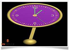 Học 3dsmax - Vẽ đồng hồ treo quả lắc