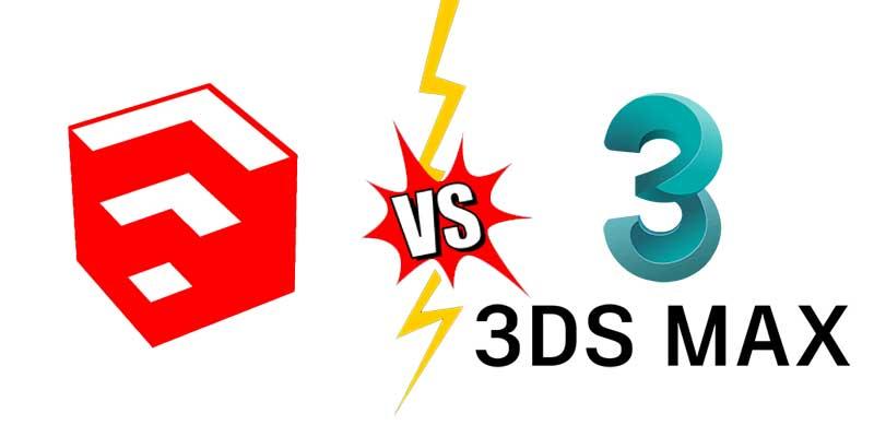 Chọn học 3d max hay sketchup để thiết kế nội thất?