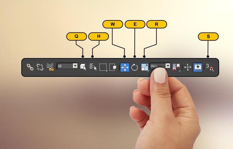 Những phím tắt thông dụng trong 3D max