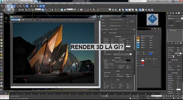 Render 3d là gì?